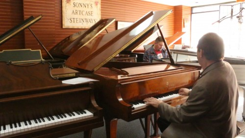 JAMMING PIANO with Damon Mulazzi & Sonny Stancarone