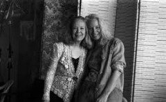 Connie Crothers & Kazzrie Jaxen Piano Duo at Ford Pianos (PART 1)