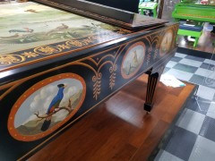 Sonny Plays Hand Painted Art Case Steinway with Bird Motiff
