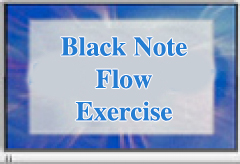 Sonny's Pianos Piano Yoga. Free Lesson 1: Black Note Flow Exercise