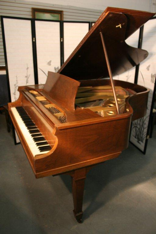 (SOLD)Knabe Baby Grand Piano 5'3' Walnut 1930 Rebuilt  20  Years Ago