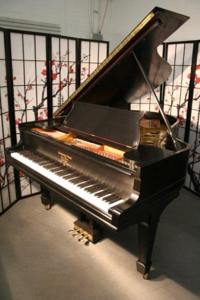 (SOLD) Steinway Grand Piano Model O  5'11 Total Rebuild 2012