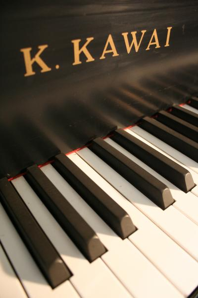 (SOLD)Kawai Baby Grand Piano KG1 5' 1982 Ebony Semi-Gloss