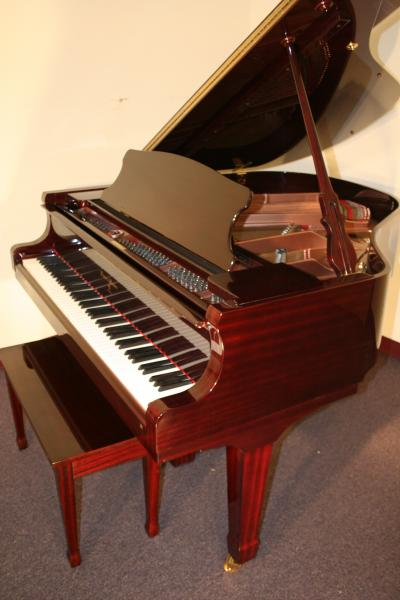 (SOLD)New  'Albert Weber' High End Baby Grand Piano 5'1' with similiar Steinway Hamburg Renner Action & Hammers