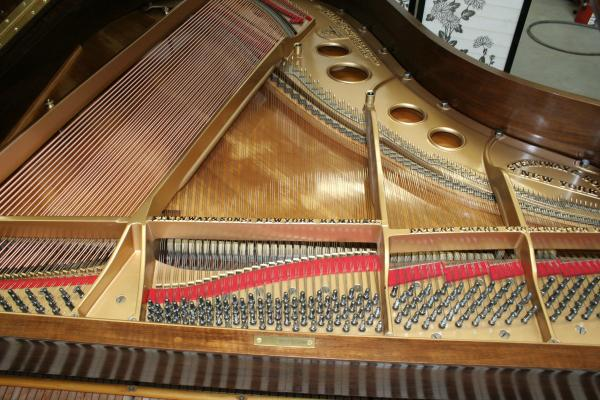 (SOLD) Rare French Walnut  Art Case King Louis XV Steinway Model O  Rebuild/Refinish 03/12