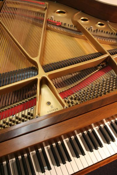 (SOLD) Baldwin Baby Grand Piano Model M 5'2 1982 Walnut Pristine $5900