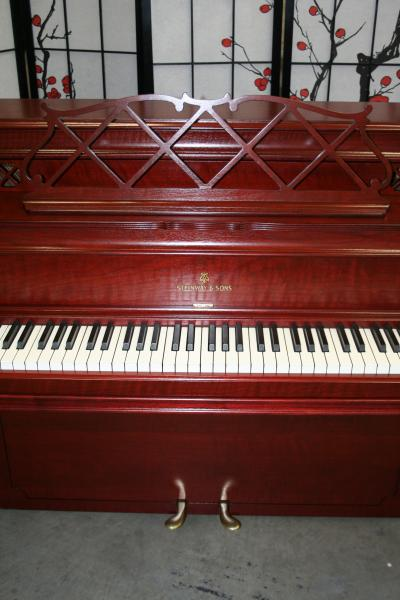 (SOLD)Art Case Steinway Console Piano King Louis XV Style 1964 Just Refinished/Refurbished