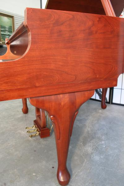 (SOLD)Art Case Wurlitzer Baby Grand Satin Walnut 5'1' 2005