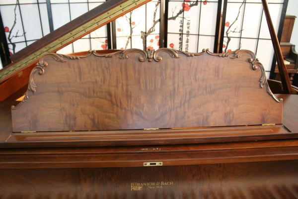 (SOLD) Beautiful Art Case Kranich & Bach Baby Grand Piano