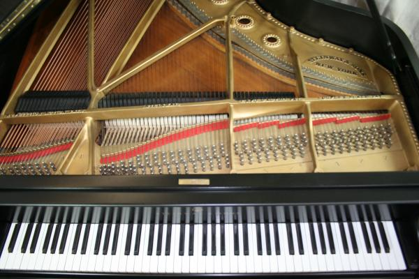 (SOLD)Steinway Grand Piano Model B (NEWER VIDEO) Refinished/Restored 2012