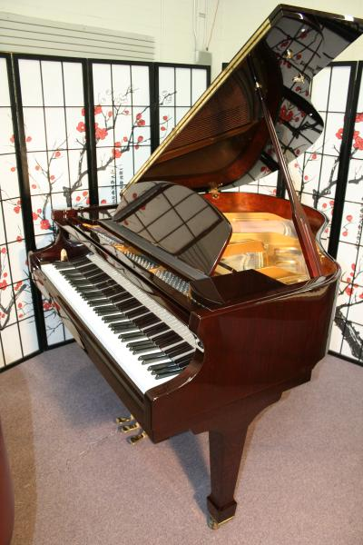 (SOLD)Falcone Baby Grand PLAYER PIANO w/ PianoDiscCD System 2005
