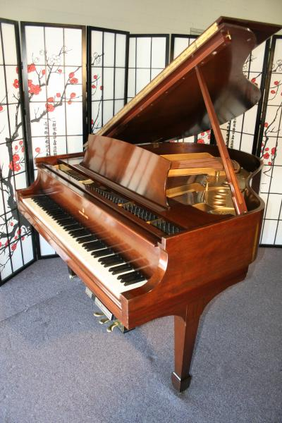 (SOLD Congratulations Al) Steinway Piano w/PianoDisc Player System Model S  5'1 Mahogany