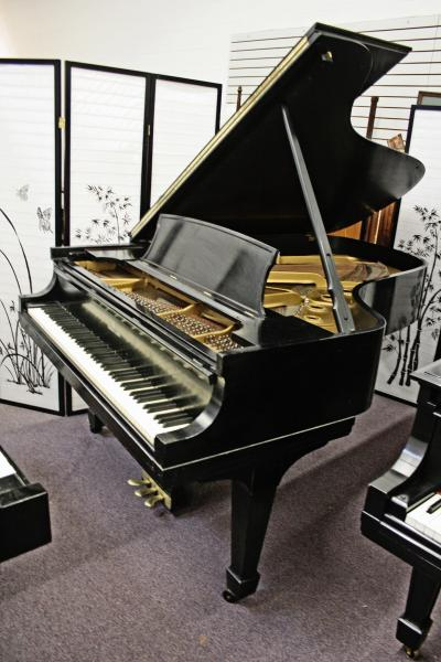(SOLD) Used Pre-owned Steinway Grand Piano Model B 1959 NYC, NJ, CT, MA, TX New Renner Action & Hammers/Just French Polished
