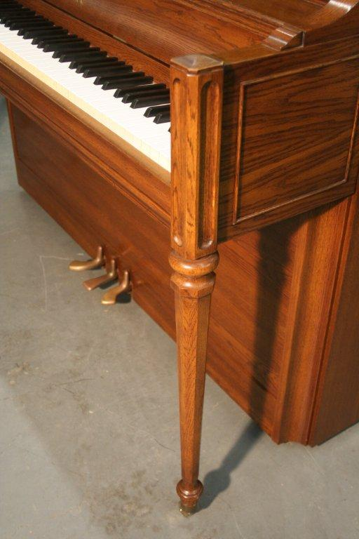 (SOLD) Yamaha Upright  Piano Wood Tone 1980's Mint Condtion $1900.