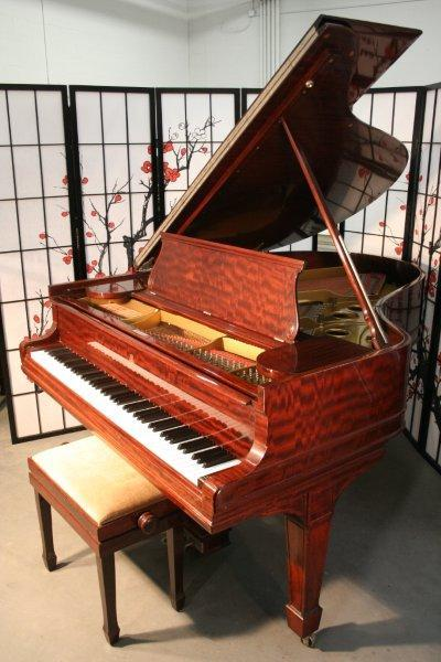 (SOLD)Steinway Grand Piano Model O 5'11 (VIDEO)Total Rebuild 2007