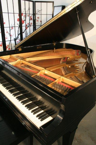 (SOLD) (NEW VIDEO) Baldwin Grand Piano Model L 6'3