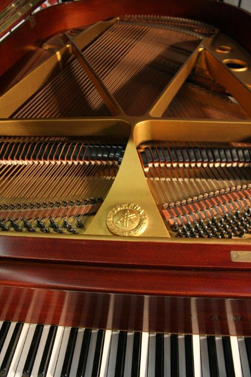 (SOLD) Crimson Red! Yamaha Grand Piano G2 5'8'  (VIDEO)