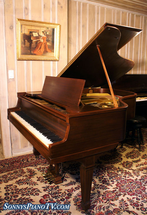 (SOLD) Knabe Baby Grand Piano 5'2