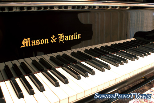 (SOLD Congratulations Becker Family) Mason & Hamlin Piano Model T 5'4