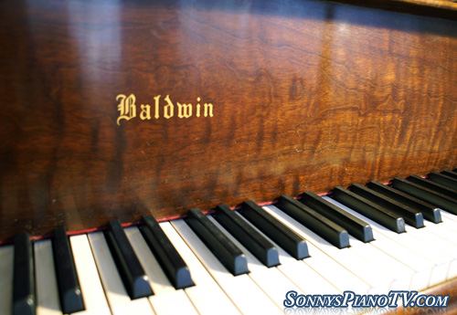 (SOLD Congratulations Peter) Baldwin Grand Piano Model R 5'8