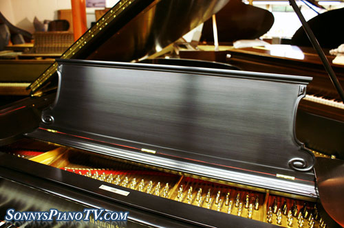 (SOLD Congratulations Julia & Dominic) Art Case Steinway Grand Piano Model B Just Totally Rebuilt New Everything!