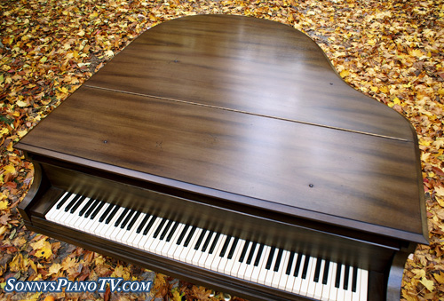 (SOLD)Baldwin Baby Grand Piano 5'2