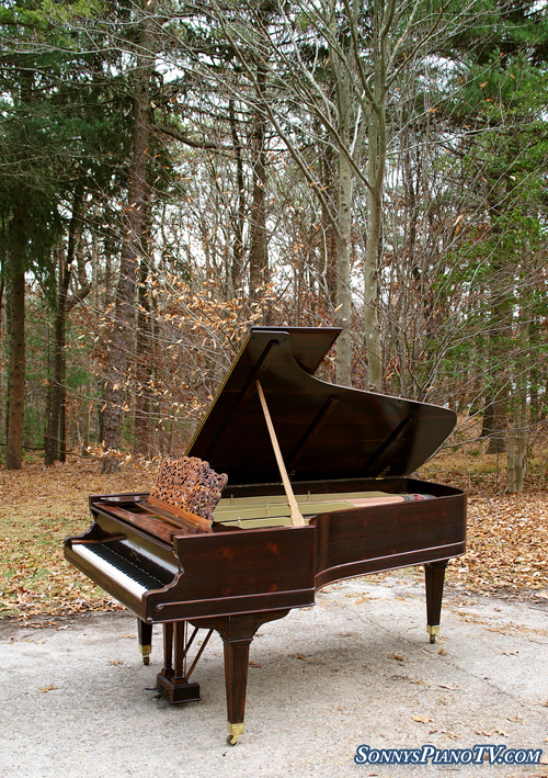 (SOLD)Steinway Grand Piano Model C 7'3