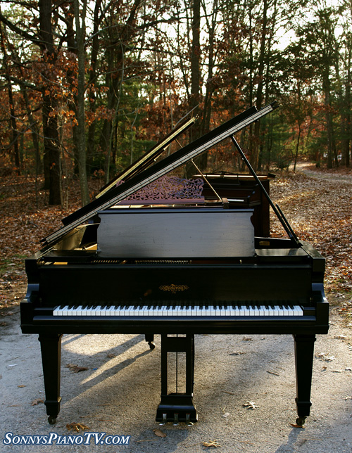 (SOLD Congratulations Tabaka Family) Chickering Grand Piano 6'6