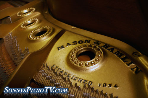 (SOLD)Congratulations Jackson Family-Mason & Hamlin Baby Grand Piano 5'4