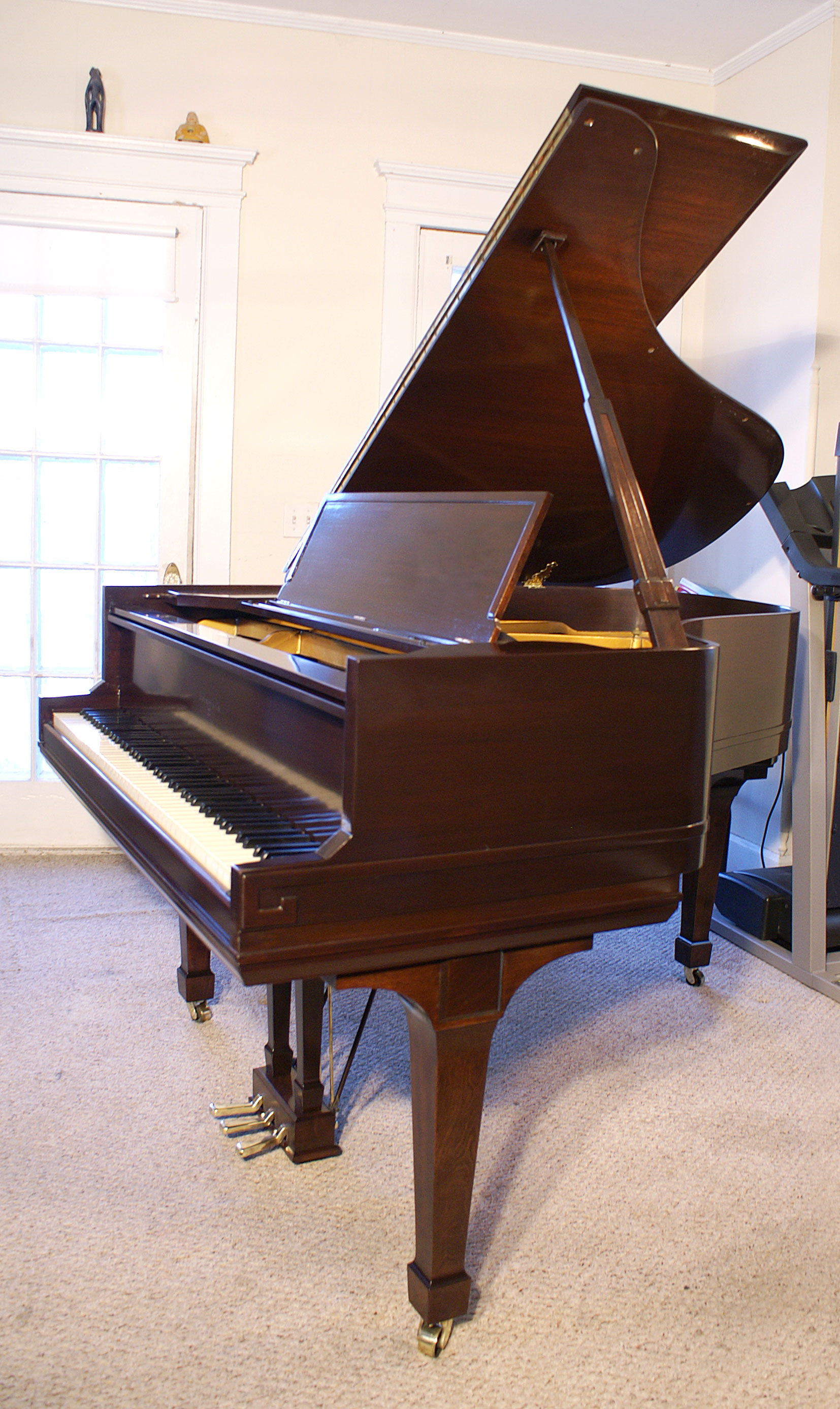 (SOLD)Sohmer Baby Grand Beautiful Mahogany 5'5