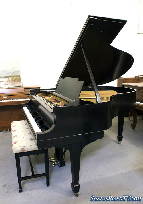 (SOLD)Steinway Grand (NEW VIDEO) Piano Model M 5'7
