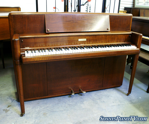 (SOLD)Steinway Upright Piano  42