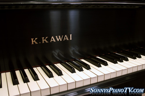 (Sold-Congratulations Dan & Diane) Kawai Baby Grand  Ebony 5'1