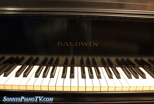 (SOLD Congratulations Higgins Family) Baldwin  Piano Model R  5'8