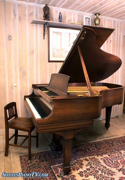 (SOLD) Steinway Grand Piano Model L 5'11
