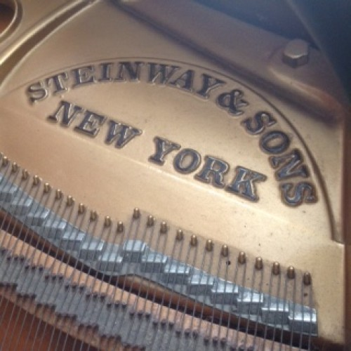 Custom Hand Carved Art Case Steinway M Rebuilt/Refinished
