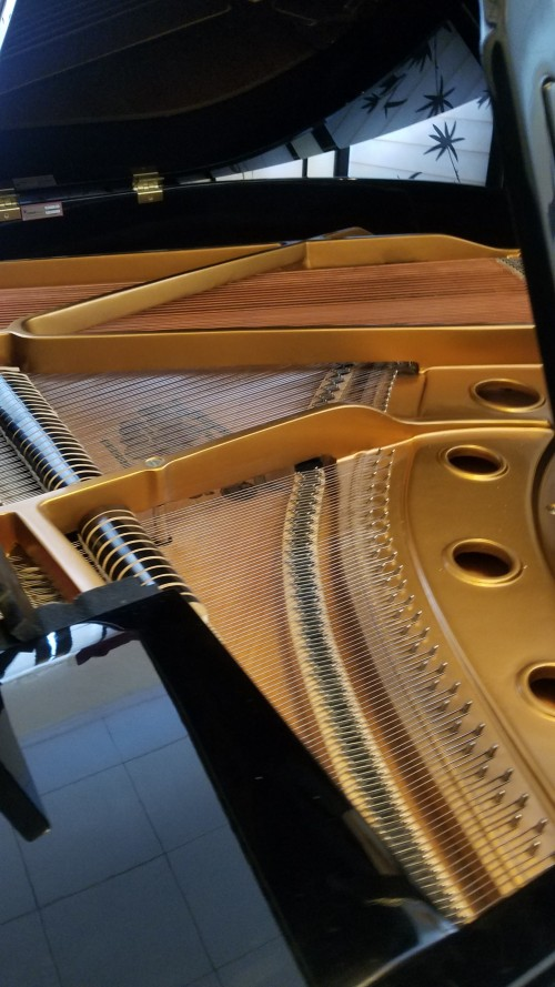 (SOLD) Kimball Baby Grand Model 520 with Bosendorfer Design Aspects 5'1