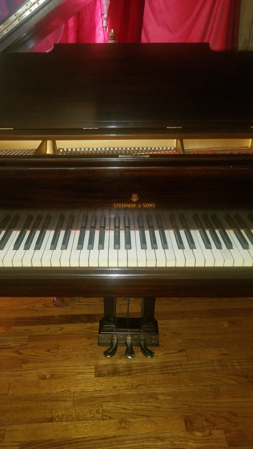 OVERSTOCKED SALE! Steinway Grand Piano Model M 1918 TOTALLY Rebuilt/Refinished 2019  New Steinway Hammers