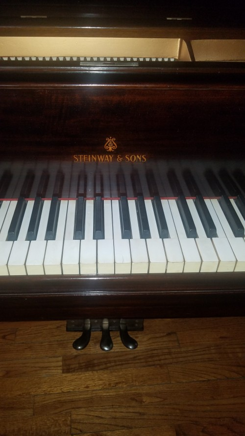 (SOLD) BLOWOUT SALE! Steinway Grand Piano Model M 1918 TOTALLY Rebuilt/Refinished 2019  New Steinway Hammers