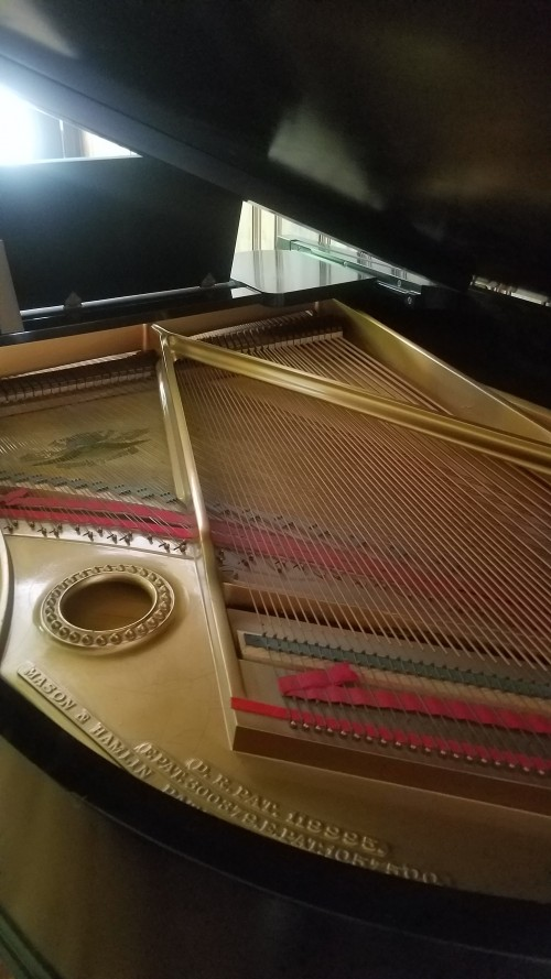 Magnificent Mason & Hamlin Grand Piano Model A 5'8