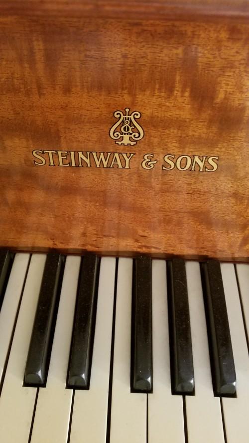 (SOLD)Steinway Model O 5'10.5