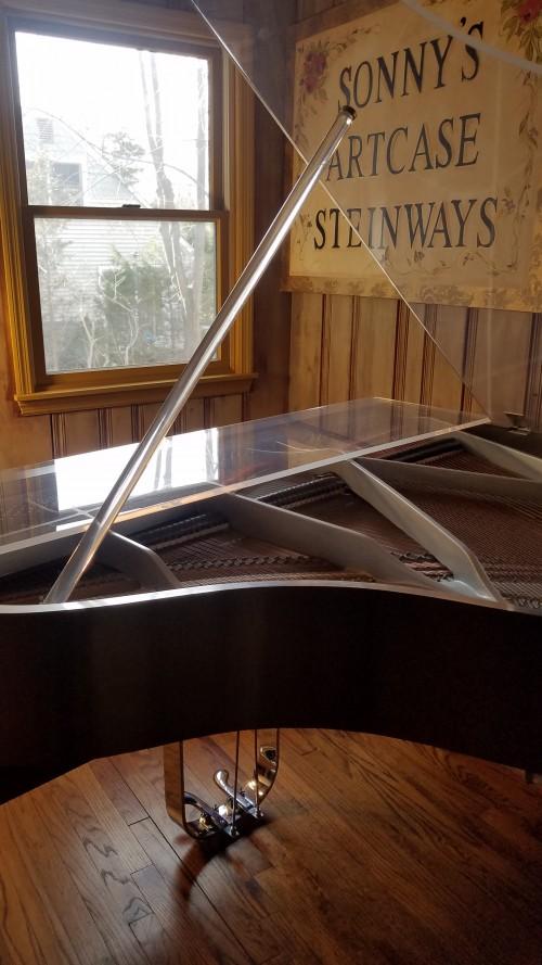 (SOLD)Plexiglass Baby Grand Piano Custom