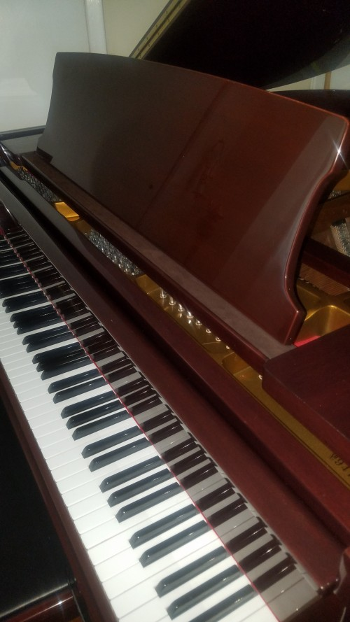 $3950. George Steck Baby Grand Player Piano 5'3