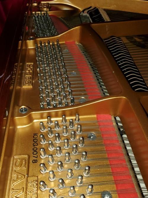 Beautiful Walnut Samick Baby Grand Piano 1995 5'1