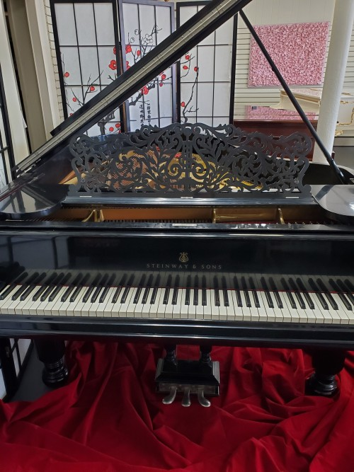 (SOLD) Steinway A 6'2