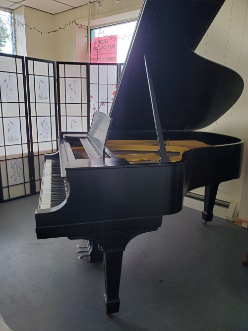 (SOLD)Rustic Black Steinway A 6'2