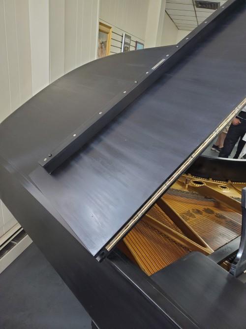 Rustic Black Steinway A 6'2