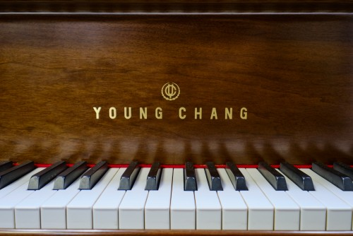 (SOLD)Young Chang Mahogany Excellent 1989 4'11