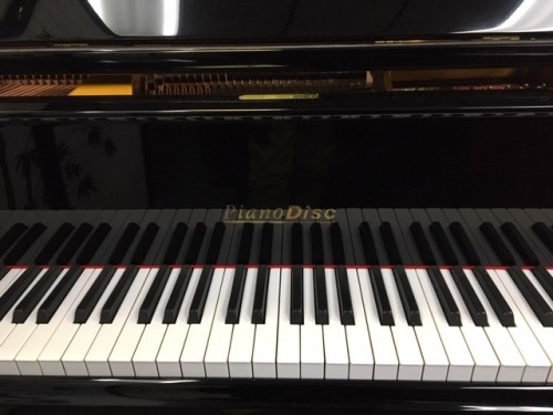 (SOLD )PianoDisc Ebony Gloss Baby Grand made by Young Chang Floppy Disk Player Piano