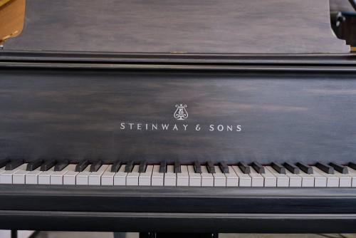 Grey Steinway Model A 6'2